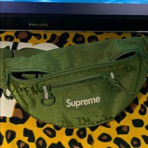Green supreme bag